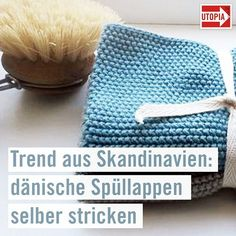 Knitting Dishcloths: Zero Waste in the Kitchen - Knitting - # Kitchen # Sp . Knitting Dishcloths: Zero Waste in the Kitchen - Knitting - the # dishcloths Crochet Diy, Beginner Crochet, Knitting Projects, Knitting Patterns, Crochet Patterns, Simply Knitting, Baby Knitting, Knit Dishcloth, Cactus Print