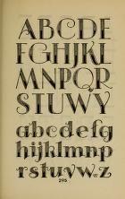 Mooi lettertype of om te schrijven