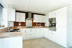 The kitchen in The Sheringham at Montfort Meadow in Evesham | Bovis Homes