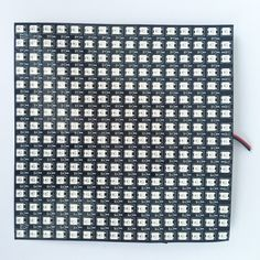 (32.00$)  Buy here - http://ai9b7.worlditems.win/all/product.php?id=825359364 - 16*16pixels WS2812B led digital(ws2811 IC controlled) flex panel light,size:17cm*17cm,DC5V input(can make customized size)