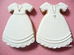 Galletas de Comunión de Angelitos y Vestidos