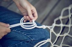 Hand-Knotted Hammock