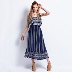 Thea Tasseled Dress