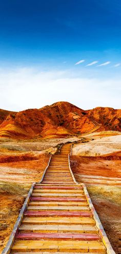 Colorful Mountain in Danxia landform in Zhangye, Gansu of China | 21 Magnificent Photos That Will Place China On Your Bucket List