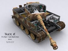 Finished the tank today. German Tiger Tank with the camo and ensigna of the PzAbt 509 Russia 1943 Hope you like it. Cobra 6