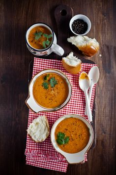 Shorba - Indian spicy Soup : Sunshine and Smile