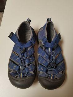 54ab8743f1 KEEN BIG KIDS SIZE 3 YOUTH NEWPORT H2 BLUE HIKING WATER SPORT SANDALS  #fashion #