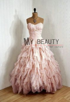 This is where to get this dress!  Beautiful 2013 Sweetheart Ruffled Evening Dress Custom Made Pink Sweet 16 Dress Long Girls Party Gowns $169.00