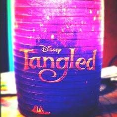 Tangled lanter! Darby you would love this!