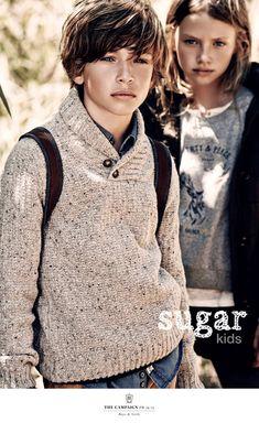 Marc y Laura de Sugar Kids para Massimo Dutti