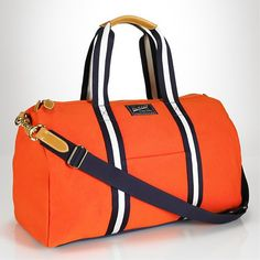 Polo Canvas Duffel Bags | Definitive Touch - Men's Contemporary Style. I love it!  I would to purchase a black or brown bag to match more outfits.