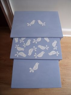 """Birds"" Nest of Tables £75.00"