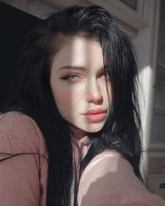 See a recent post on Tumblr from @g0rewaifu about goth-girl. Discover more posts about goth-girl. Aesthetic Women, Aesthetic Hair, Cute Makeup, Makeup Looks, Girl Pictures, Girl Photos, Belle Silhouette, Fc B, Uzzlang Girl