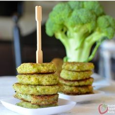 Cheesy Broccoli Bites -- these look easy & yummy! Haven't made them yet, but definitely will.