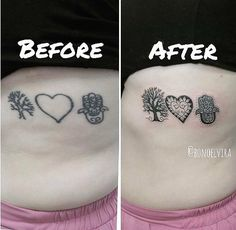 Tattoo rework Cover Up Tattoos, Print Tattoos, Ideas, Tatoo, Tattoos Cover Up, Thoughts, Covering Tattoos