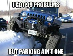 Searching for Jeep Wrangler Unlimited New cars? Woodbine Chrysler has 12 in stock matching your description! Jeep Jk, Jeep Truck, Jeep Humor, Jeep Funny, Car Humor, E90 Bmw, Offroader, New Cars For Sale, Chrysler Dodge Jeep
