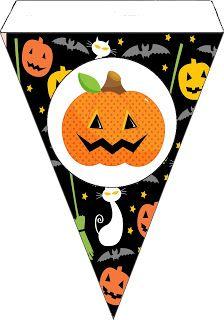 Carinho de Mãe : Kit Halloween Abóbora