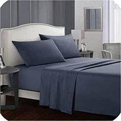 Hotel Bed Sheets, Soft Bed Sheets, Bed Sheet Sets, Flat Sheets, White Bedding Sets Queen, Blue Bedding Sets, Queen Size Bedding, Camas King, Home Luxury