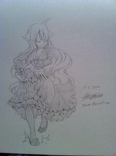Mashima-sensei's vision of the flamenco!
