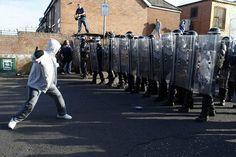 photos of belfast riots | Belfast riots, Ardoyne: Belfast riots, Ardoyne