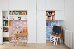 Chambre d'enfants Appartement parisien de 106m2- GCG Architectes