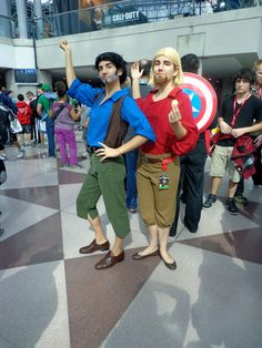 Tulio and Miguel! The Absolute Best Cosplay From New York Comic-Con 2013