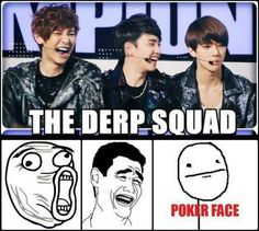 EXO Derp Squad with Chanyeol, D.O., & Sehun