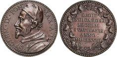 "NumisBids: Numismatica Varesi s.a.s. Auction 65, Lot 871 : CLEMENTE IX (1667-1669) Med. A. I ""Beatificazione di Rosa da Lima"" ..."