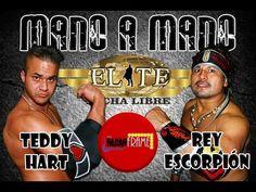 REY ESCORPIÓN VS TEDDY HART MANO A MANO EN LIGA ELITE JORNADA 12