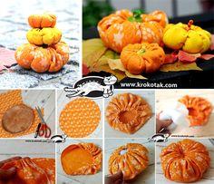 Textile pumpkins
