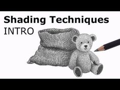 Pencil Shading Techniques: Introduction - YouTube