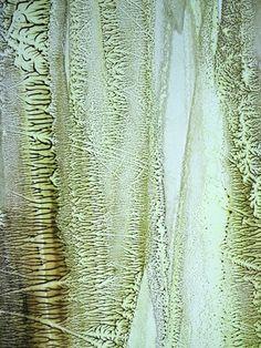 FRACTAL #11 (detail) Oil dispersion / paper 70 x 50 cm art WORK for SALE