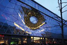 MyZeil Shopping Mall, Frankfurt Germany's Grand Futuristic Shopping Experience   Archute