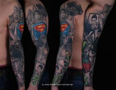 superman,sleeve,tattoo,monkido.jpg (769×600)