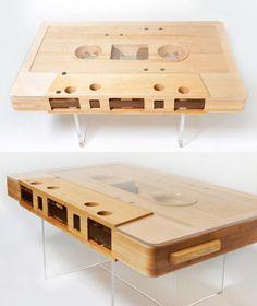 Mesa Cinta de musica-tape table