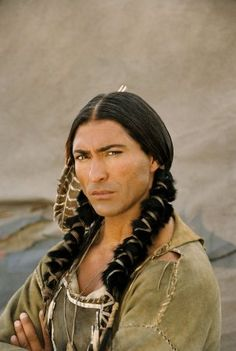 Jay Tavare as Chief Prairie Fire in Into the West