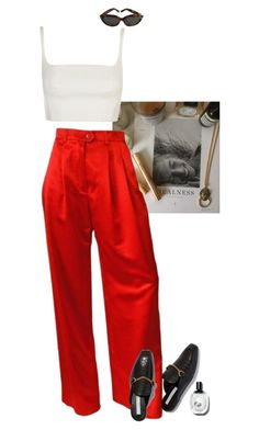 """""""0.24"""" by miniti ❤ liked on Polyvore featuring ESCADA and Yves Saint Laurent"""