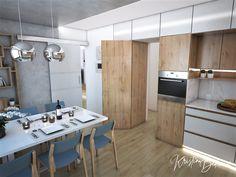 Návrh kuchyne Svet vôní, pohľad na vchod do kuchyne Conference Room, Divider, Table, Furniture, Home Decor, Decoration Home, Room Decor, Tables, Home Furnishings