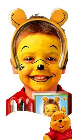 Winnie the Pooh face paint