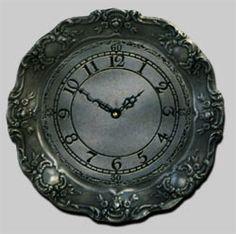 45-075 - Gadroon Clock Pocket Watch, Clock, Quartz, Accessories, Watch, Clocks, Pocket Watches, Jewelry Accessories