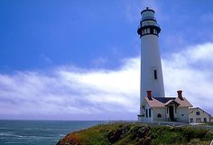 The magnificent Pigeon Point Lighthouse, San Mateo County, California