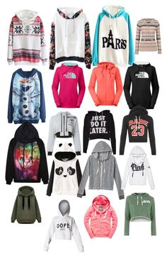 """""""Hoodies galore"""" by mollybow100 on Polyvore"""