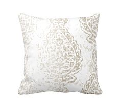 7 Sizes Available: Damask Pillow Cover by ReedFeatherStraw on Etsy