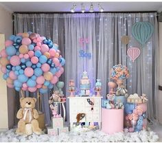 Gender Reveal Party Games, Gender Reveal Party Decorations, Baby Shower Gender Reveal, Balloon Decorations, Diy Party Decorations, Reveal Parties, Boho Baby Shower, Baby Shower Princess, Baby Shower Balloons