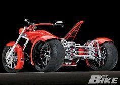 custom trike motorcycle