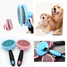 Professional Grooming Brushes & Combs for Dogs Brush & Comb Dog Groomer Tools #Unbranded