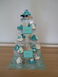 Tiffany & Co inspired cupcakes