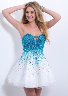 This dress reminds me of Frozen