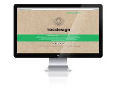 Site web de l'entreprise Toc Design Design Graphique, Site Web, Monitor, Electronics, Business, Consumer Electronics