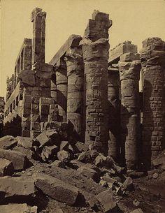 1856 Karnak - Photographer: Francis Frith